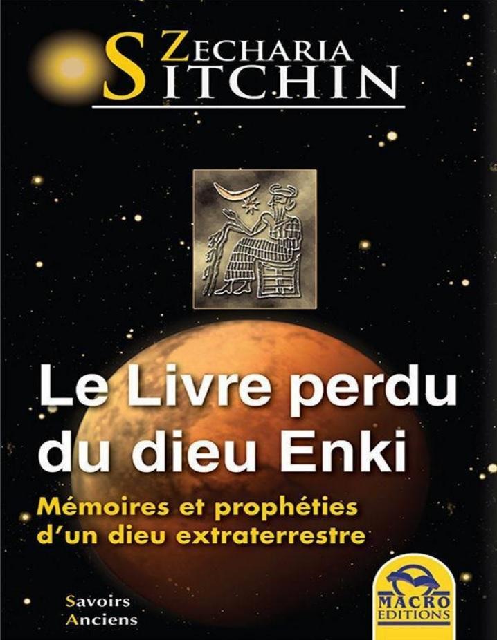 sitchin livre perdu du dieu enki