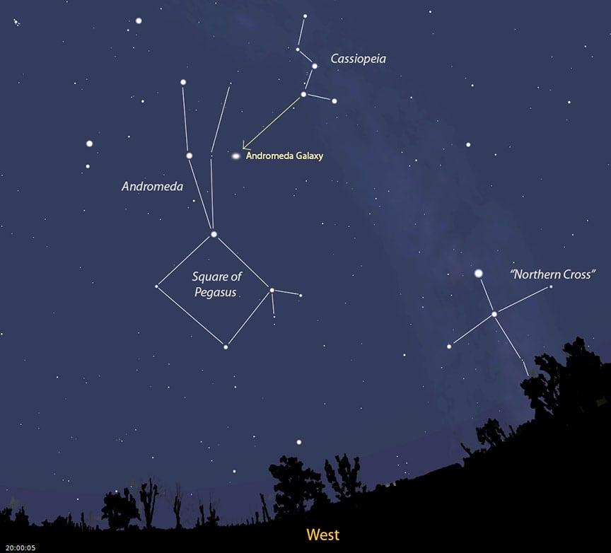 Andromeda-locator-early-winter