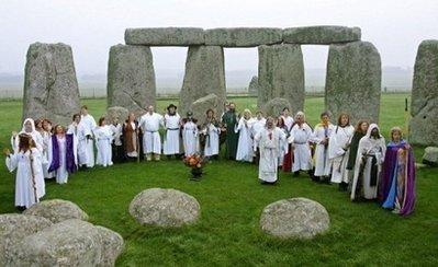 Stonehenge Druids AFP Carl de Souza