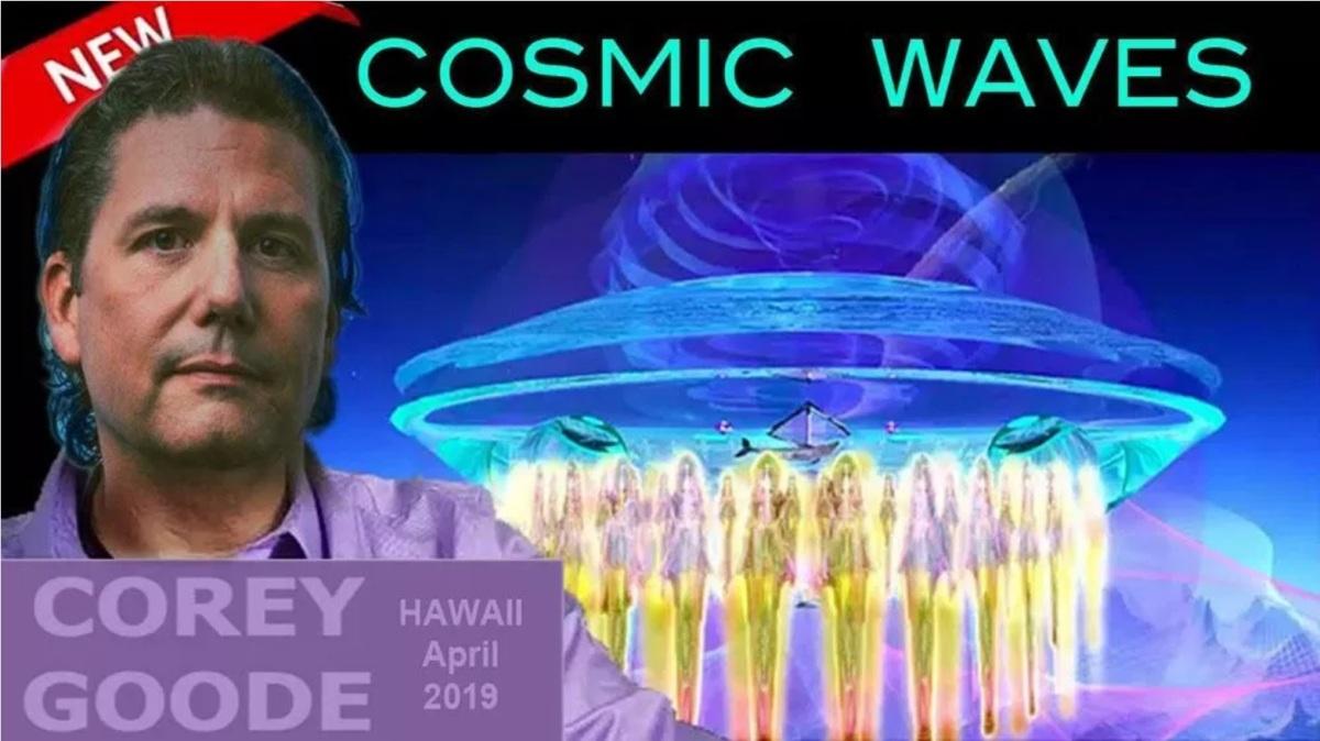 Se préparer à la divulgation et aux flashs solaires - Corey Goode à Cosmic Waves