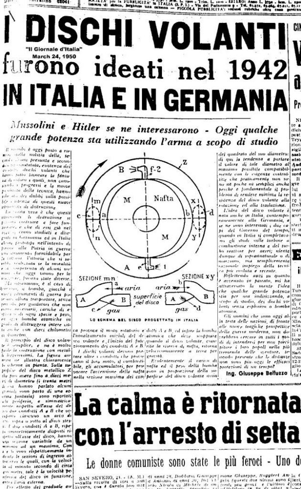 Belluzzo-UFO-Newspaper
