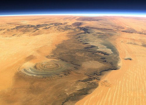 Eye-of-the-sahara-richat-structure-from-space