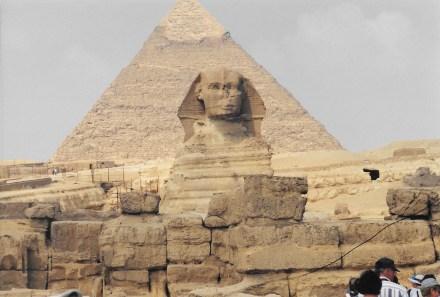 Pyramide de Khephren & Sphinx