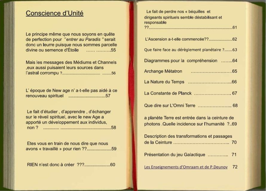 LIVRE CONSCIENCE EVOLUTION SPIRITUALITE25